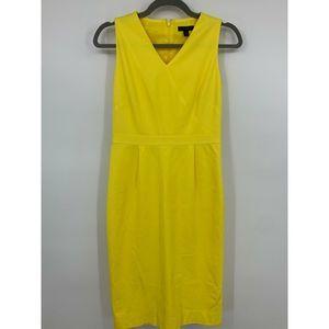 J Crew womens Dress 2 tall sleeveless sheath lined